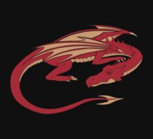 Smaug, the red dragon by danielasynner