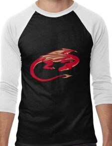 Smaug, the red dragon Men's Baseball ¾ T-Shirt