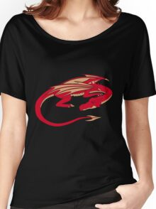 Smaug, the red dragon Women's Relaxed Fit T-Shirt