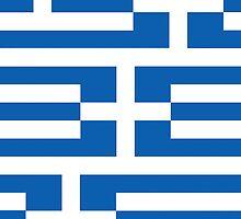 Smartphone Case - Flag of Greece - Patchwork by Mark Podger