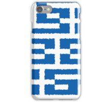 Smartphone Case - Flag of Greece - Patchwork Painted iPhone Case/Skin