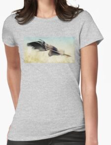 Memory of a quill Womens Fitted T-Shirt