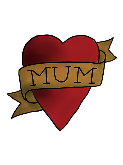Mum ♥ heart tattoo - Matt Helders by miumiuxx