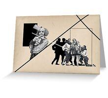 Circus Family  Greeting Card