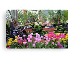 Spring Flower Show Canvas Print
