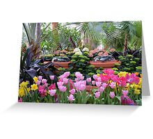 Spring Flower Show Greeting Card