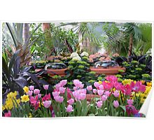 Spring Flower Show Poster