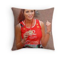 Amy Childs from the only way is Essex programme Throw Pillow
