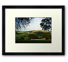 North Wessex Downs Framed Print