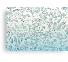 Entangled Clouds Canvas Print