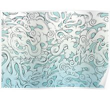 Entangled Clouds Poster