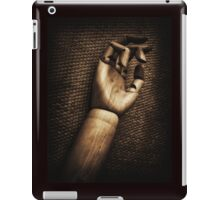 Wood hand iPad Case/Skin