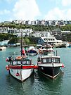 Busy Busy Mevagissey by Yampimon