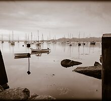 Crinan Harbor Scotland by mlphoto