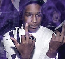 A$AP Rocky by Rasheda Bailey