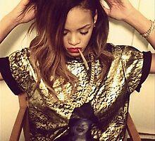 Rihanna by Rasheda Bailey