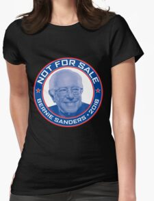 Bernie Sanders 2016 - Not For Sale Womens Fitted T-Shirt