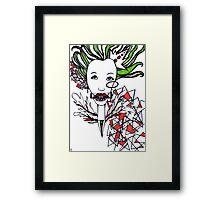 Snow White Evil Queen Framed Print