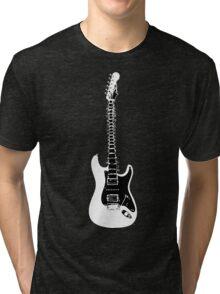Guitar Spine Tri-blend T-Shirt