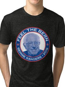 Bernie Sanders 2016 - Feel the Bern Tri-blend T-Shirt