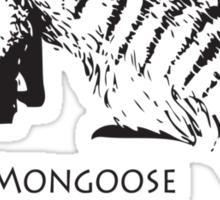 Bandit Mongoose Sticker