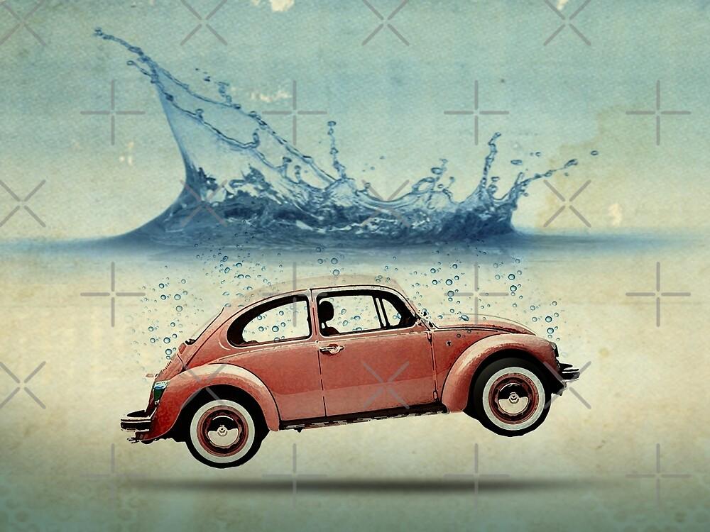 Drop in the Ocean by Vin  Zzep