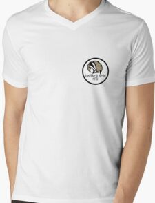 Badgers Arse MTB Front Mens V-Neck T-Shirt