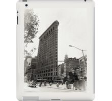 New York, white iPad Case/Skin