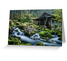 The fairytale mill Greeting Card