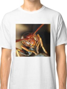 Wasp hanging on the nest. Classic T-Shirt