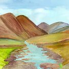 Highland Stream by Nan Engen