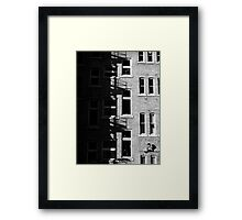 Apartments, Cardiff Framed Print