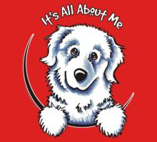 Great Pyrenees :: Its All About Me Baby Tee