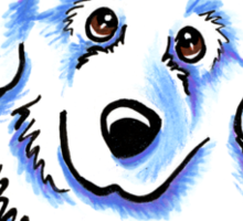Great Pyrenees :: Its All About Me Sticker
