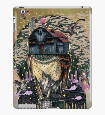The Barn Owl Fortune Teller iPad Case/Skin