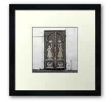 Tel Aviv Doors 2 Framed Print