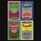 Vegetarian Campbell's Warhol Tribute by J. Stoneking