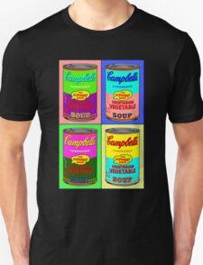 Vegetarian Campbell's Warhol Tribute T-Shirt
