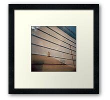 boards Framed Print