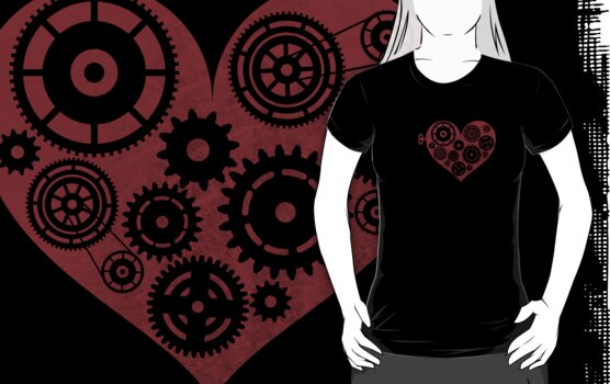 Clockwork Heart by misoramen