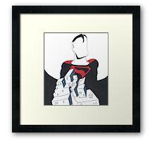 Superman Kingdom Come Framed Print