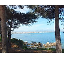 Antibes from Cap d'Antibes Photographic Print