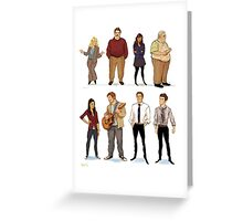 Parks and Rec 1 Greeting Card