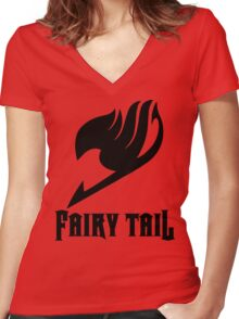 Fairy Tail Guild Tee Women's Fitted V-Neck T-Shirt