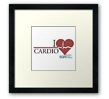 Grey's Cardio Framed Print