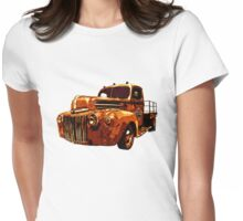 46 Ford Flatbed Redux from the Laboratories at VivaChas! Womens Fitted T-Shirt