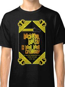 Buckaroo Banzai 2011 Tour - Yellow Version 2 Classic T-Shirt