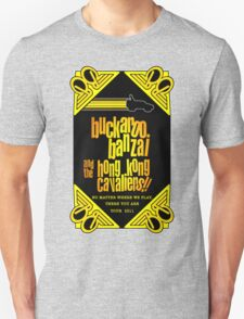 Buckaroo Banzai 2011 Tour - Yellow Version 2 T-Shirt