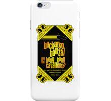 Buckaroo Banzai 2011 Tour - Yellow Version 2 iPhone Case/Skin