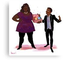 Parks and Rec 2 - TREAT YOSELF Canvas Print